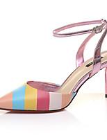 Chaussures Femme-Mariage / Bureau & Travail / Habillé / Décontracté / Soirée & Evénement-Noir / Rouge-Talon Aiguille-Talons-Talons-