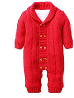 Girl's Overall & Jumpsuit,Cotton Winter Red