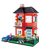 wan pour maintenir le modèle de blocs de construction maison villa 31054 diy granulés jouets