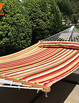 SWIFT Outdoor®Hammock Quilted Hanging Bed Fabric With Pillow Double Spreader Bar Heavy Duty Swing