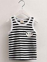 Summer Navy Style Cool Children Girl Clothing Sets Kids Set Striped Vest Shorts For Boys