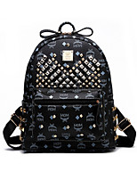 Women PU Duffel Backpack