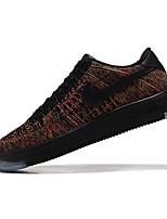 Scarpe da uomo-Sneakers alla moda-Tempo libero / Sportivo / Casual-Tessuto-Marrone / Verde