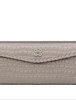 Women Cowhide Bi-fold Wallet / Card & ID Holder-Pink / Blue / Gray / Black