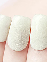 Ekbas Environmentally Safe Sugar Gum Yellow 16ML Glitters Nail Polish