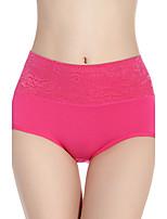 Para Mujer Bragas Panti Modelador-Algodón / Modal