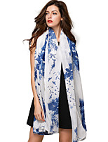 Women Viscose Scarf,Vintage / Cute / Party / Work / Casual