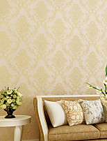Contemporary Wallpaper Art Deco European Flower Self Adhesive Wallpaper Wall Covering Non-woven Fabric Wall Art