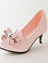 Women's Shoes Leatherette Stiletto Heel Heels Heels Office & Career / Party & Evening / Dress Pink / White
