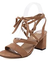 Women's Shoes Stiletto Heel Heels / Fashion Boots / Basic Pump / Comfort / Novelty / Ankle StrapSandals / Heels /