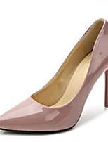 Chaussures Femme-Soirée & Evénement-Noir / Rose / Gris-Talon Aiguille-Talons-Talons-Similicuir