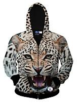 Sets Activewear Uomo Casual / Formale / Attività sportive Con stampe Manica lunga Poliestere