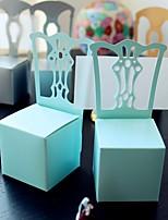 Cajas de regalos(Azul cielo claro,Papel de tarjeta) -Tema Asiático / Tema Clásico / Tema Fantástico-Cumpleaños / Matrimonio / Aniversario