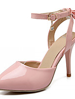 Women's Shoes Leatherette Stiletto Heel Heels Heels Office & Career / Party & Evening / Dress Green / Pink / White