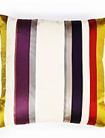 Polyester Housse de coussin,Rayé Traditionnel/Classique