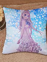 Cotton / Satin Cushion Pillowcase+Pillow Core