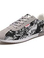 Men's Shoes Athletic Fleece Fashion Sneakers Black / Blue / Gray