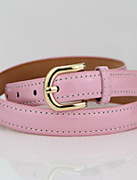 PU Skinny Belt,Cute / Party Alloy