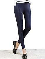Brand Fashion Design pants Spring Elegant Skinny Ladies PU Leather Leggings Wild Slim Pencil Trousers Feet Pants
