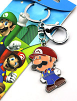 New Super Mario Bros Red / Green Alloy Key More Accessories