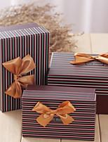 Boîtes Cadeaux(Marron,Papier durci)Thème classique- pourMariage / Commémoration / Fête prénuptiale / Fête de naissance / Bonbon seize /