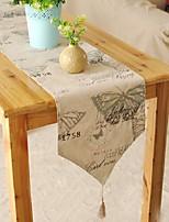 papillon de style méditerranéen à motif chemin de table mode hotsale de haute qualité table de draps en coton top déco