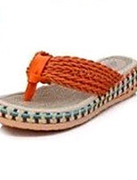 Women's Shoes Customized Materials Platform Slippers / Open Toe Sandals / Slippers Outdoor / Dress / Casual