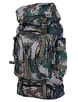 Outdoor Mountaineering Bags Tactical Camouflage Backpack 60L Water Repellent Nylon Bag Camping Hiking Backpack