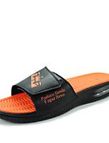 Zapatos de Hombre-Pantuflas / Sin Cordones-Exterior / Casual / Deporte-Microfibra-Negro / Azul / Blanco