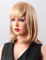 cheveux humains droite capless perruques 9 couleurs au choix