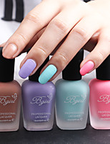 4 PCS Bgirl Nail Art  Matte Nail Polish -16ml/Bottle 17-20 (4 COLORS)