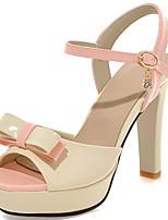 Women's Shoes Stiletto Heels/Platform/Sling back Sandals Party & Evening Shoes/Dress Black/Pink/White/Beige