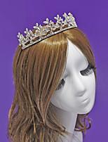 Exquisite Rhinestone / Alloy Headpiece-Wedding / Special Occasion / Outdoor Tiaras