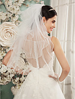 Wedding Veil Four-tier Shoulder Veils Pencil Edge