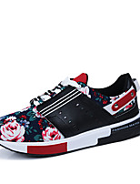 Summer Flowers Printing Rubber Sole Men's Shoes Men Fashion Superstar Brand Sports Shoes Casual Chaussure Plus Size