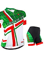 NUCKILY Cycling Clothing Sets/Suits / Arm Warmers / Jerseys Women's Bike Breathable / Reflective Strips / Back Pocket Short Sleeve