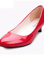 Women's Shoes  Kitten Heel Heels Heels Office & Career / Casual Black / Red / White