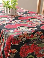 japanese table de style mode en tissu hotsale de haute qualité draps en coton table basse carrée couverture en tissu éponge