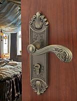 Dorlink® Vintage Zinc Alloy Antique Brass Keyed Entry Door Lock