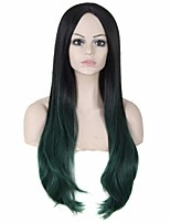 Top Quality Mixed Color Synthetic Long Straight Synthetic Wigs