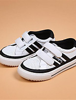 Girls' Shoes Outdoor Comfort Leatherette Fashion Sneakers Black / White