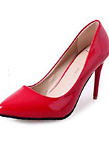 Women's Shoes Stiletto Heel Heels Heels Party & Evening / Dress Black / Purple / Red / White