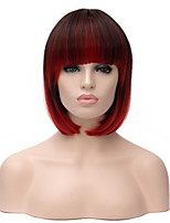 Fashional Lady Synthetic Wig Ombre Color 1b/bug Straight BOBO Heat Resistant Hair Synthetic Wigs
