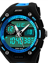 Outdoor Sports Dual Display Watches Male Students Multifunction Electronic Watch Personality