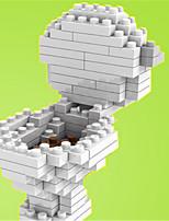 loz les blocs toilettes loz diamant bloquent jouets jouets de bricolage (120 pcs)