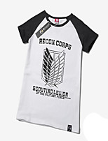 Inspired by Attack on Titan Eren Jager Cotton T-shirt