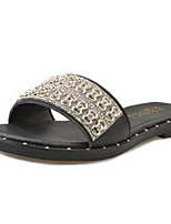 Women's Shoes Antiskid Glisten Fashion Flat Heel Comfort / Open Toe Slippers Casual