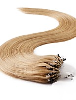 Neitsi 100% Human Hair Extensions Micro Ring Loops Hair 24 inch 25 Strands