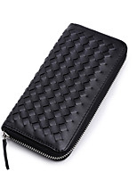 Women PU Bi-fold Wallet-Black