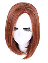Hot Style Colorfully Synthetic Top Quality Straight Brown Color Wigs